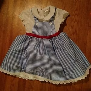 Gymboree Costume Dress, Dorthy in the Wizard of Oz